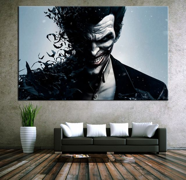 """12/""""x14/""""Batman HD Canvas prints Painting Home decor Picture Room Wall art Poster"""