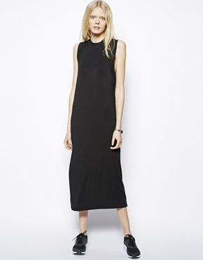 Just Female High Neck Maxi Dress