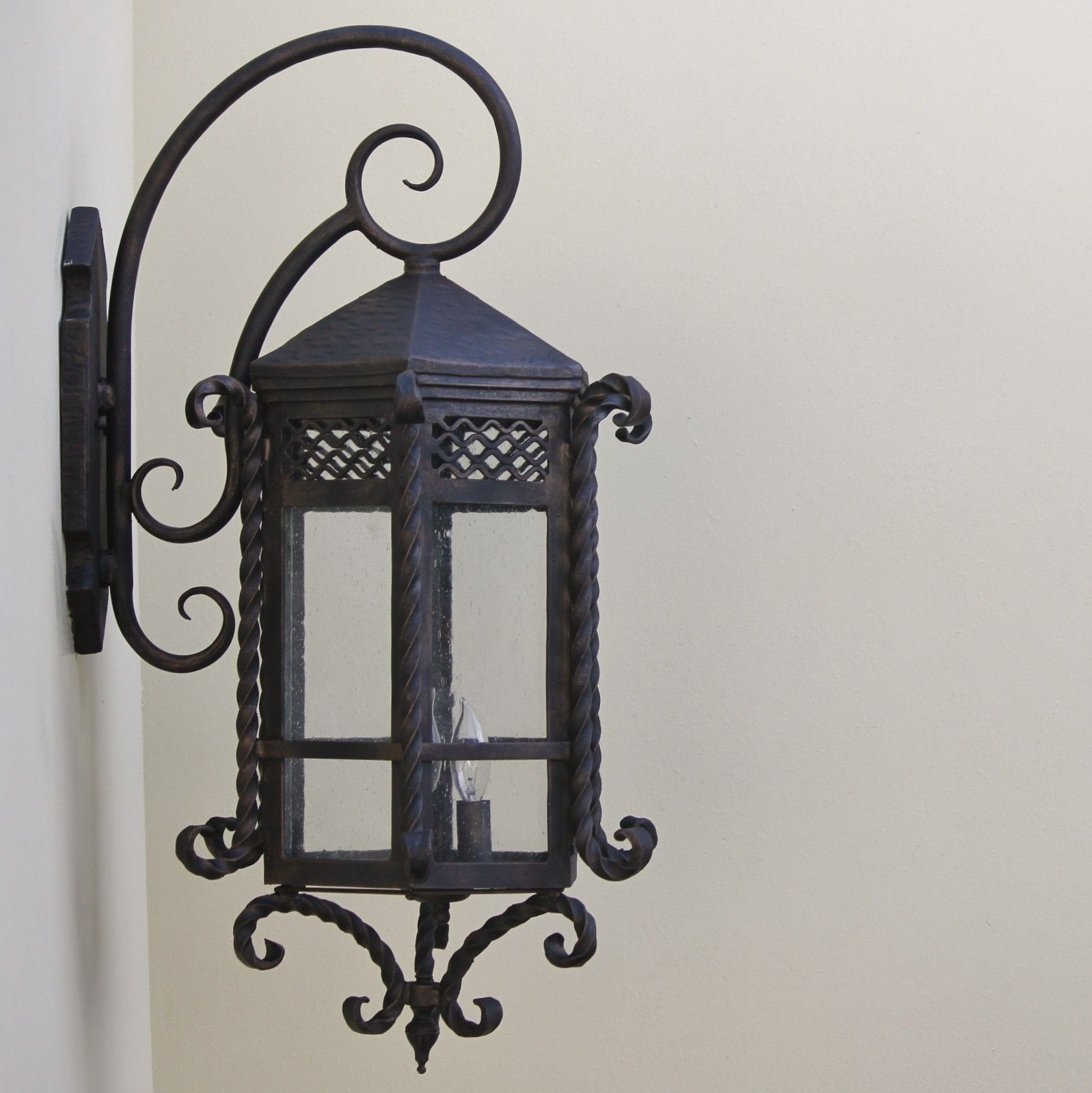 Wrought iron outdoor wall lights afshowcaseprop