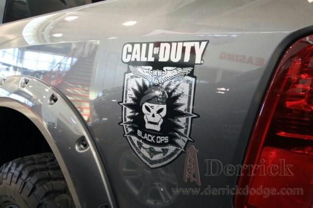 Call Of Duty Black Ops Ram 1500 Courtesy Derrick Dodge Edmonton Custom Design Dodge Call Of Duty Black Chrysler