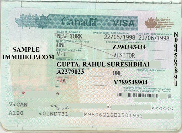 Sample Canada Visa Cosas Interesantes Pinterest Prints - canadavisa resume builder
