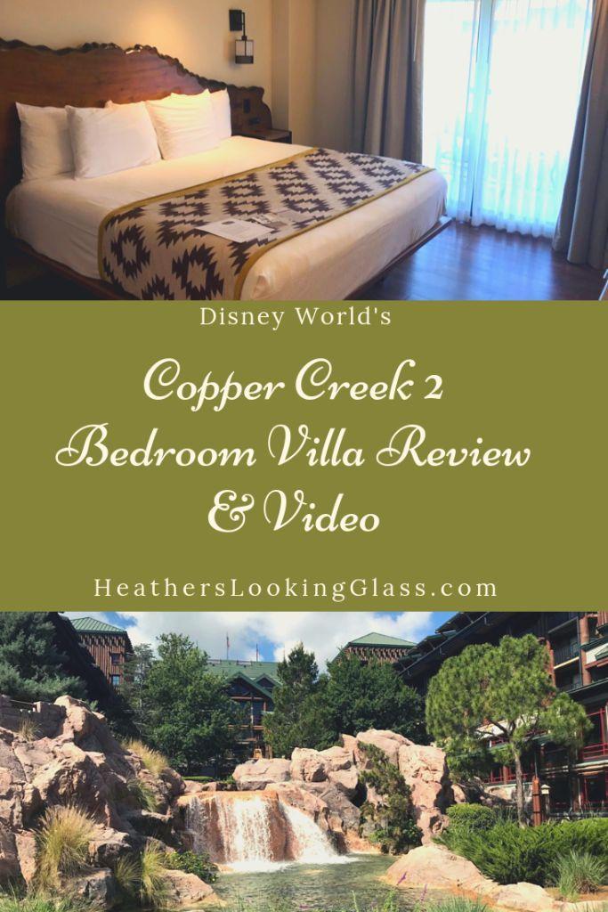Disney's Copper Creek 2 Bedroom Villa Grand floridian
