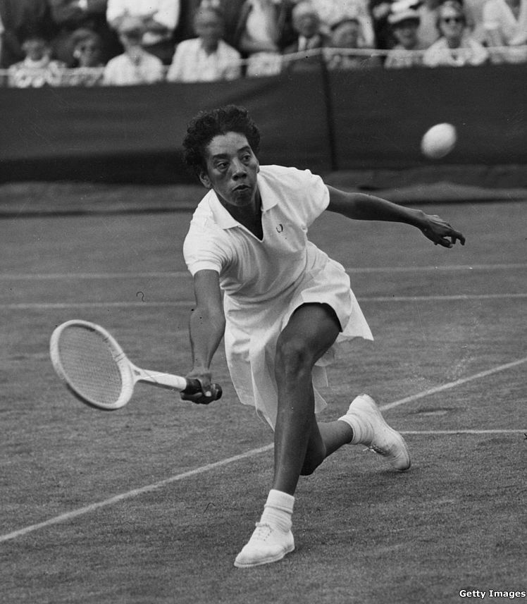 Tennis legend Althea Gibson, was the first black player to compete at the  US Open