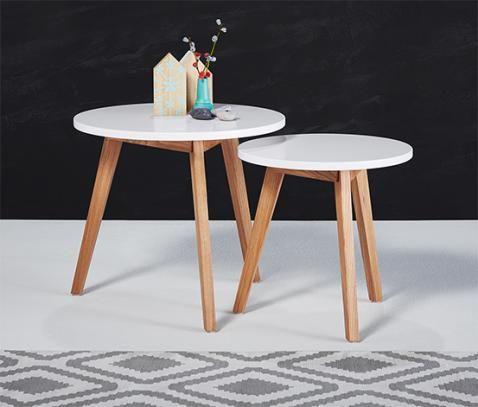 Beistelltisch-Set online bestellen bei Tchibo 336561 Möbel - designer mobel materialmix