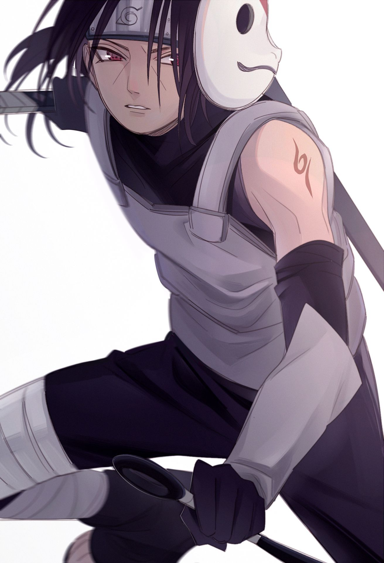 Naruto the hidden ANBU ITACHI in 2020 Itachi uchiha