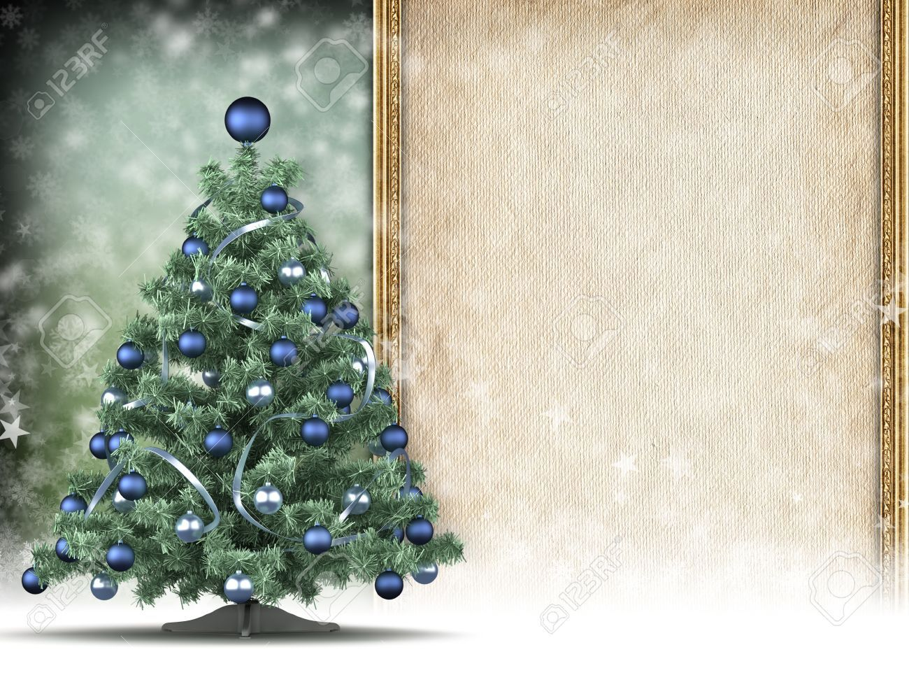 Christmas Card Template Xmas Tree And Blank Space For Text With Blank Christmas Card T Christmas Card Templates Free Card Templates Free Christmas Cards Free