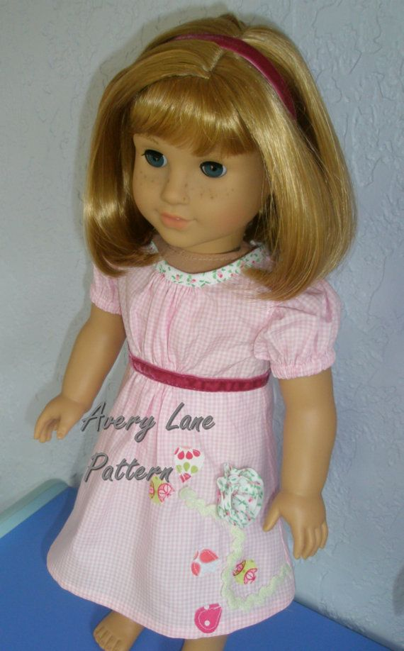 Janie Dress and Top Boutique doll Pattern Avery Lane by AveryLane ...