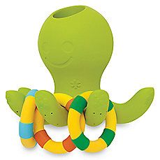 image of SKIP*HOP® Octopus Ring Toss Fountain Bath Toy
