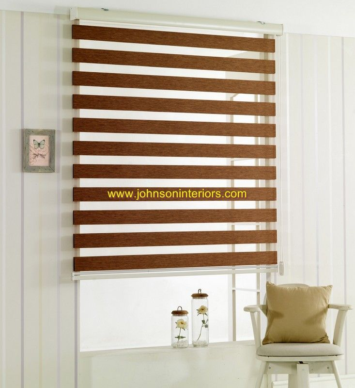 Khaki Color Zebra Blind This Blinds Will Make Any Window Look