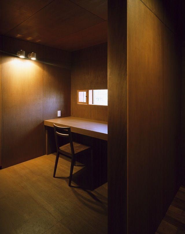 これぞ男の隠れ家 男を上げる書斎10選 インテリアアーキテクチャ 家 書斎 レイアウト