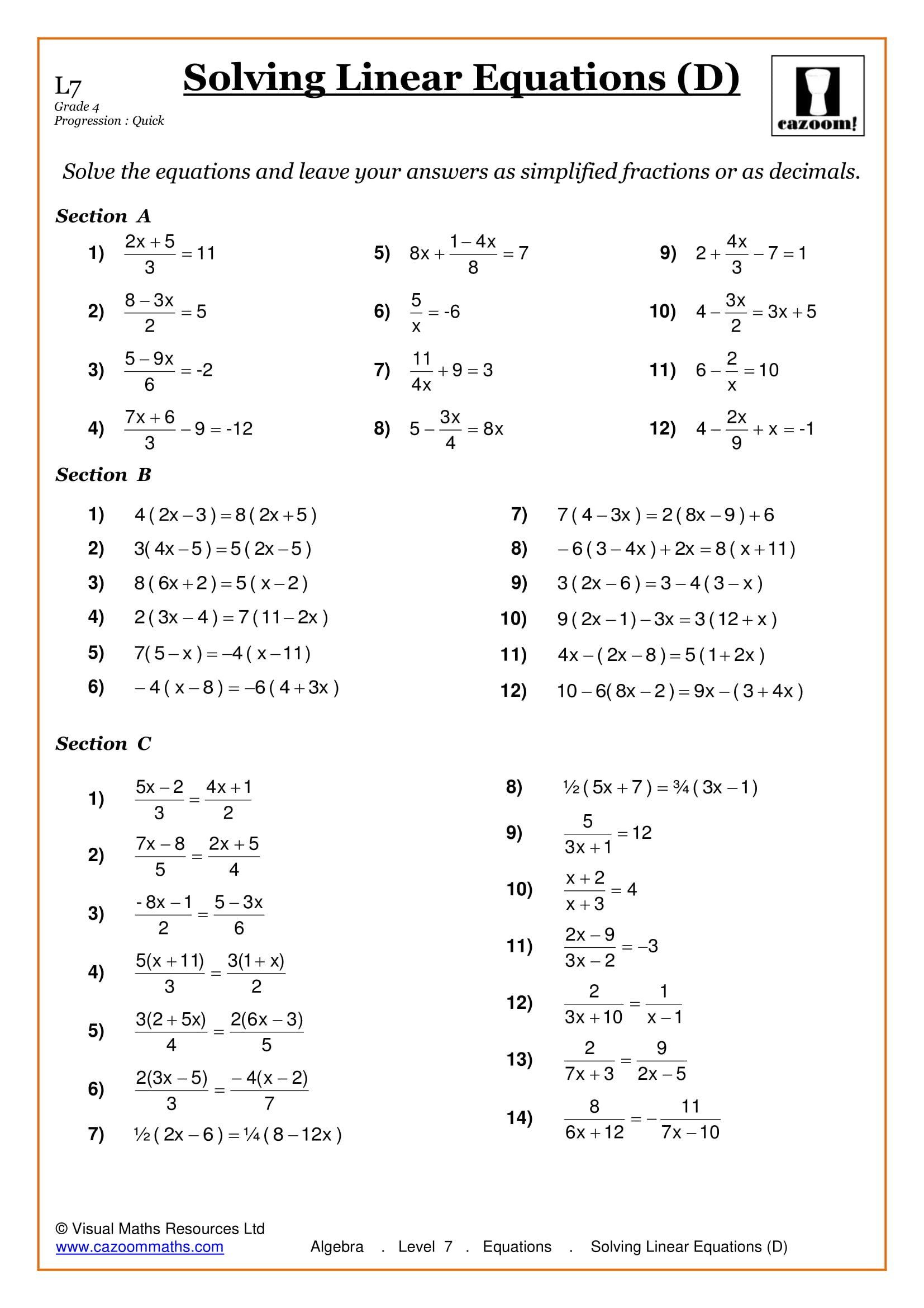 Life Skills Math Worksheets Maths Worksheets