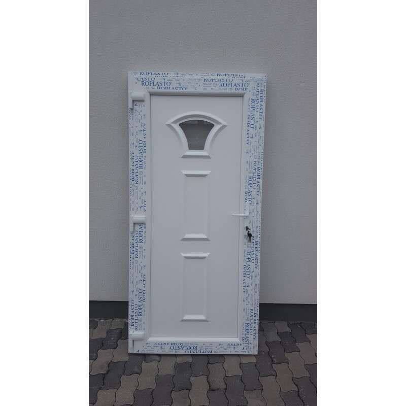 Lefkada plastic Entrance door 98x208cm # white