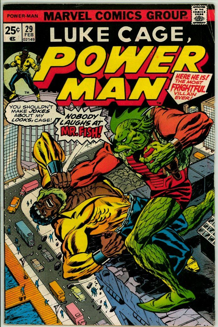 Luke Cage, Power Man 29 (VG- 3.5)