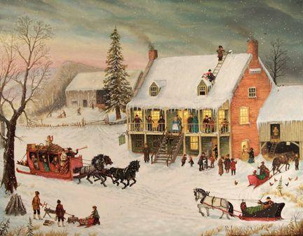 christmas artist paintings