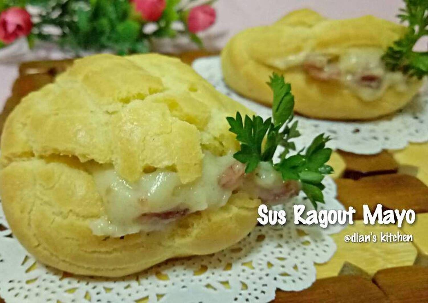 Resep Sus Ragout Mayo Oleh Dian S Kitchen Resep Resep Rebusan Tumis