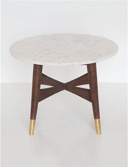 Beistelltisch Marmor Von AU Maison ✓aus Marmor/Holz ✓Couchtisch ✓runde  Tischplatte ✓skandinavisches Design ✓neu   Möbel   Pinterest