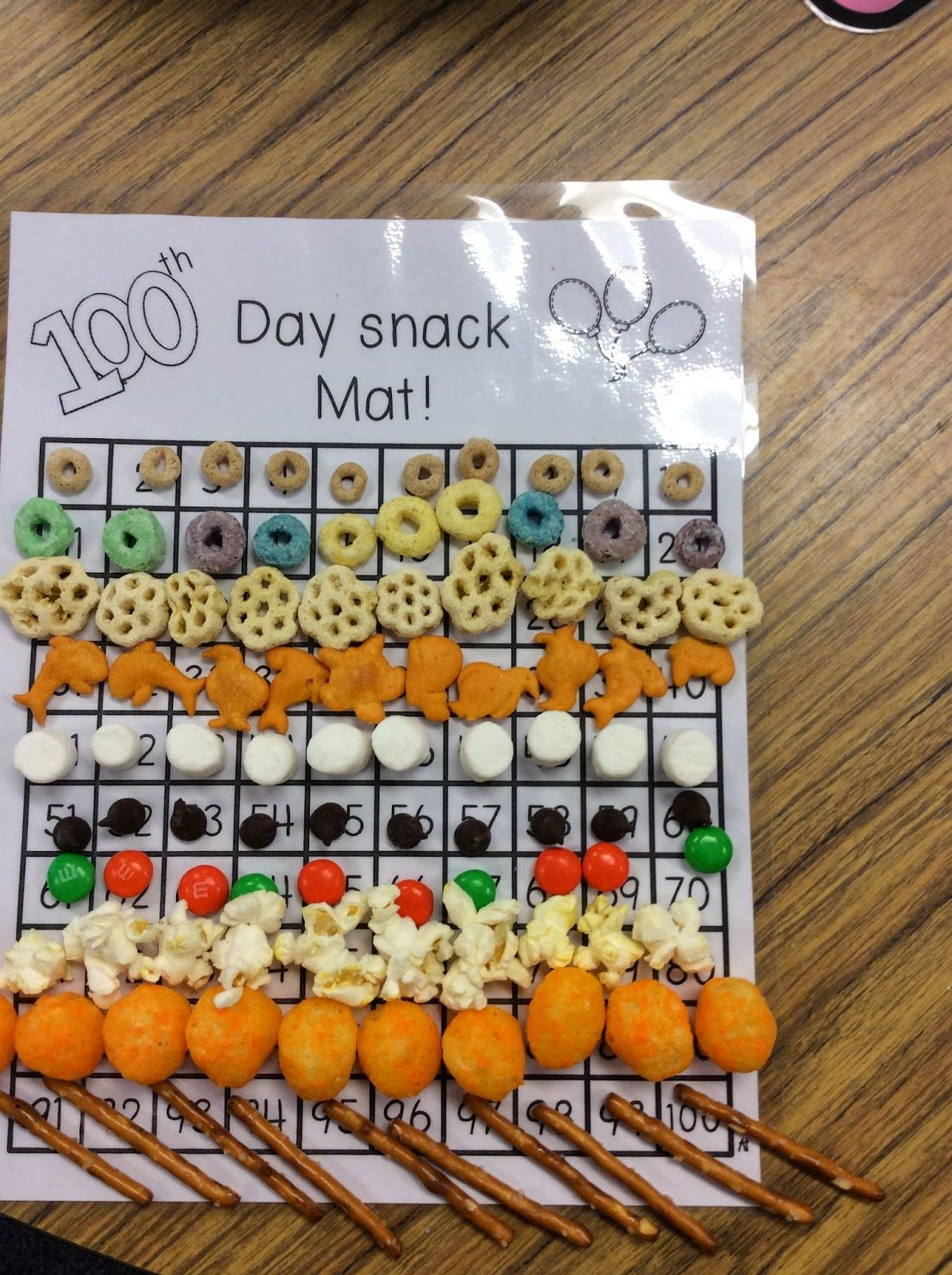 100th Day Fun In Our Kindergarten Classroom With A Freebie