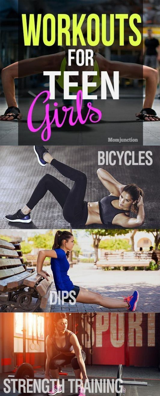 Working out is beneficial to teens. Here are some workouts for teenage girls help improve your exerc...