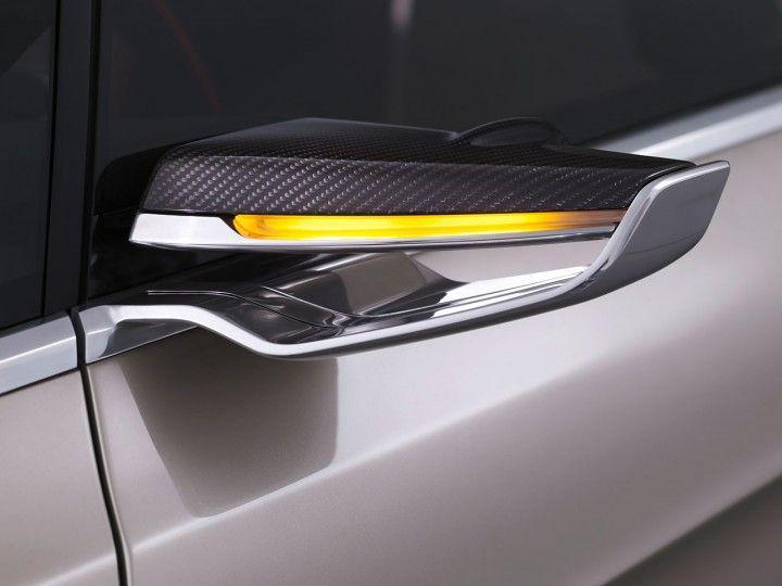 Ford Vertrek Concept Side View Camera Automotive Design Transportation Design Side Mirror Car