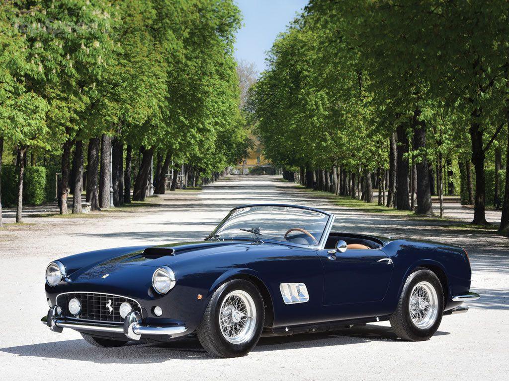 1961 Ferrari 250 GT SWB California Spider By Scaglietti | Mis coches ...