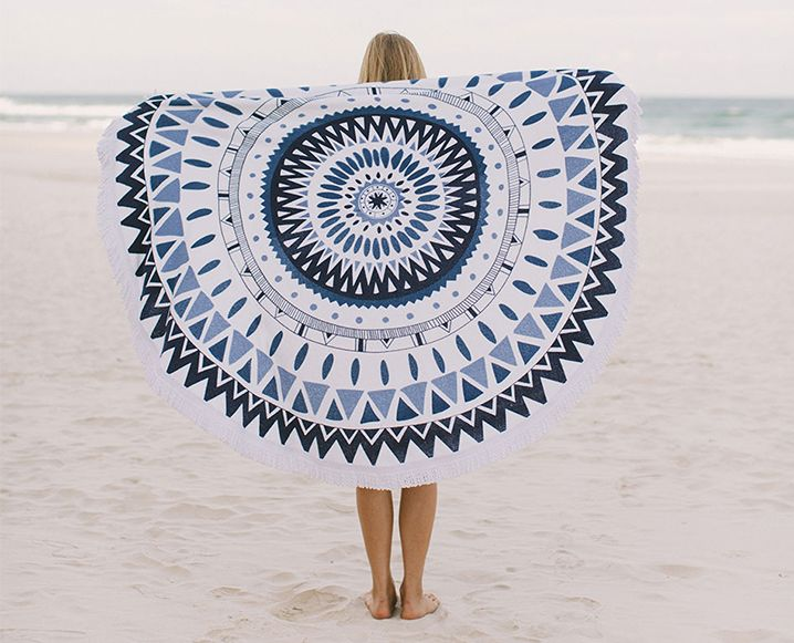 Upgrade Your Beach Day With These 6 Cool Beach Towels With Images