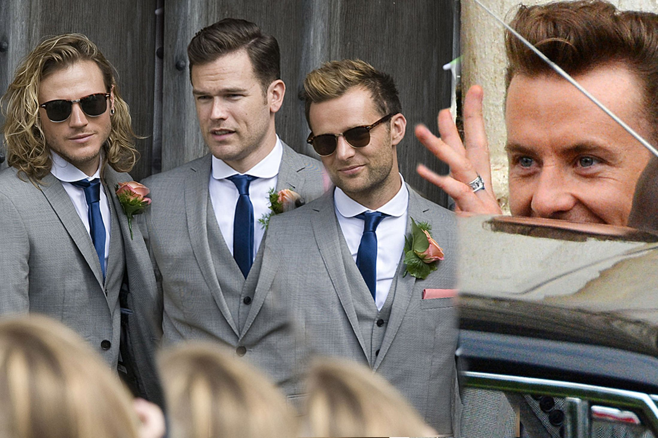 It S A Mcfly Wedding Danny Jones Getched And Dougie Poynter Ellie Goulding