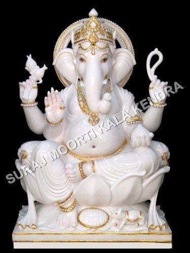 Marble Ganesh Statue Marble Ganesha Statue Lord Ganesh Idol