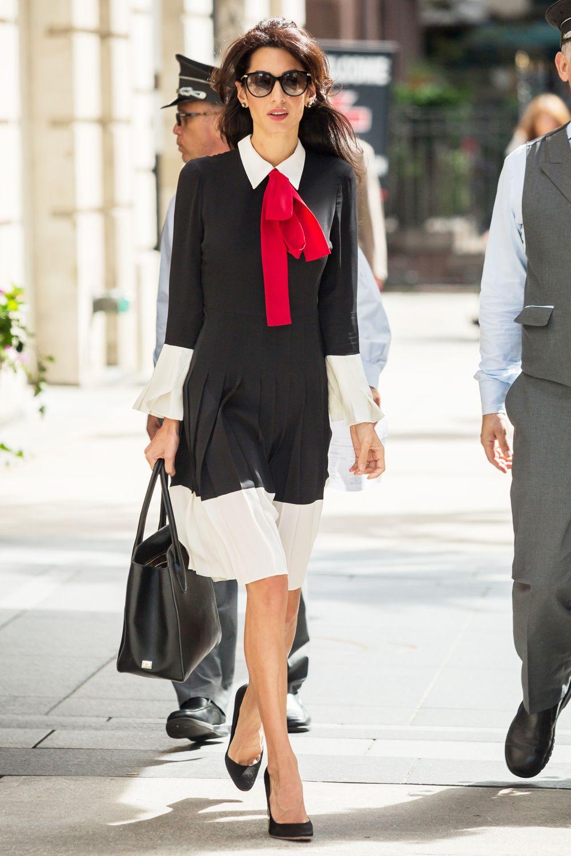 Amal Clooney Style File | Amal | Work fashion, Amal clooney