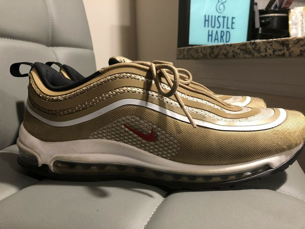 NIKE AIR MAX 97 ULTRA 17 OG METALLIC GOLD SIZE 10.5 FAST SHIPPING  fashion   clothing  shoes  accessories  mensshoes  athleticshoes (ebay link) 1d0acb6c2