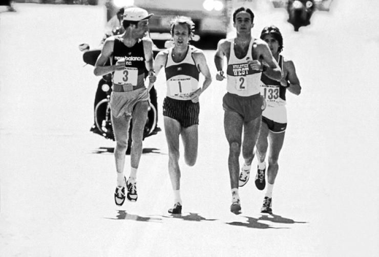 Alberto Salazar Alberto Salazar Marathon Runners Boston Marathon