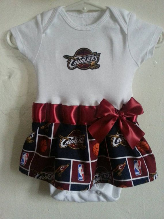 separation shoes 628fb adb22 Cleveland Cavaliers inspired baby girl outfit | Baby Buys ...