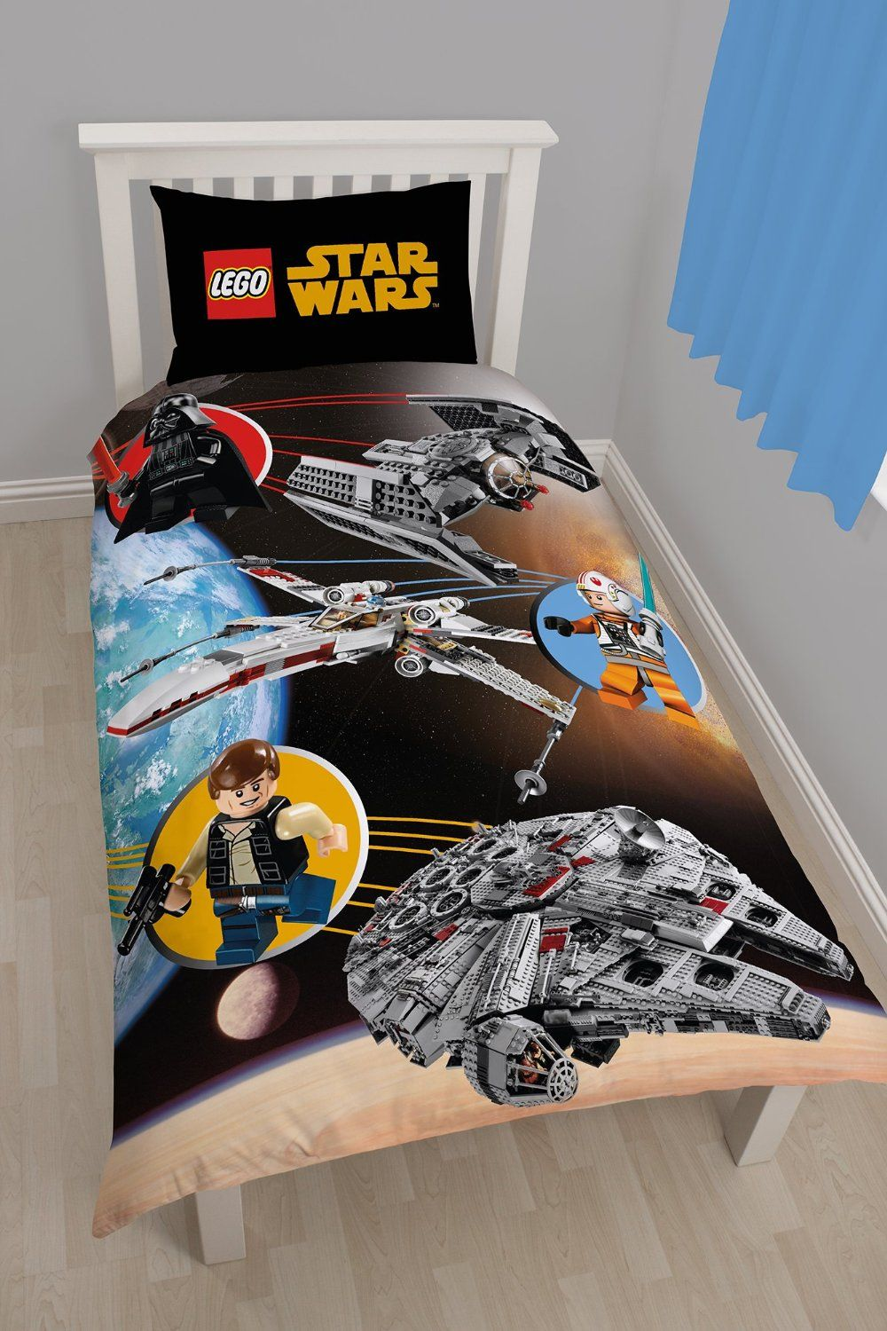character lego star wars space panel single duvet cover by unknown you can get more details by clicking on the image