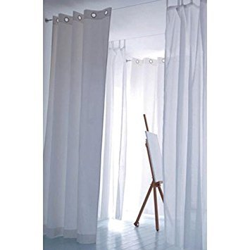 Amazonsmile Fasthomegoods Curtain Wire Rod Set Stainless Steel