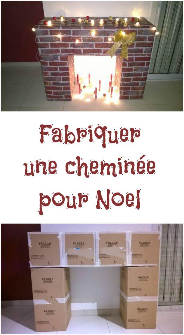 Une cheminée pour Noël Beads
