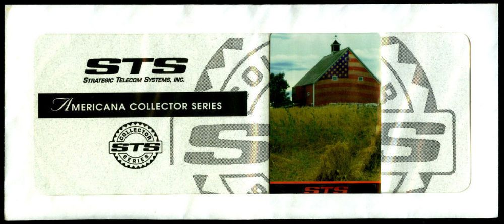 1996 Strategic Telecom Systems Americana Collector Series Prepaid