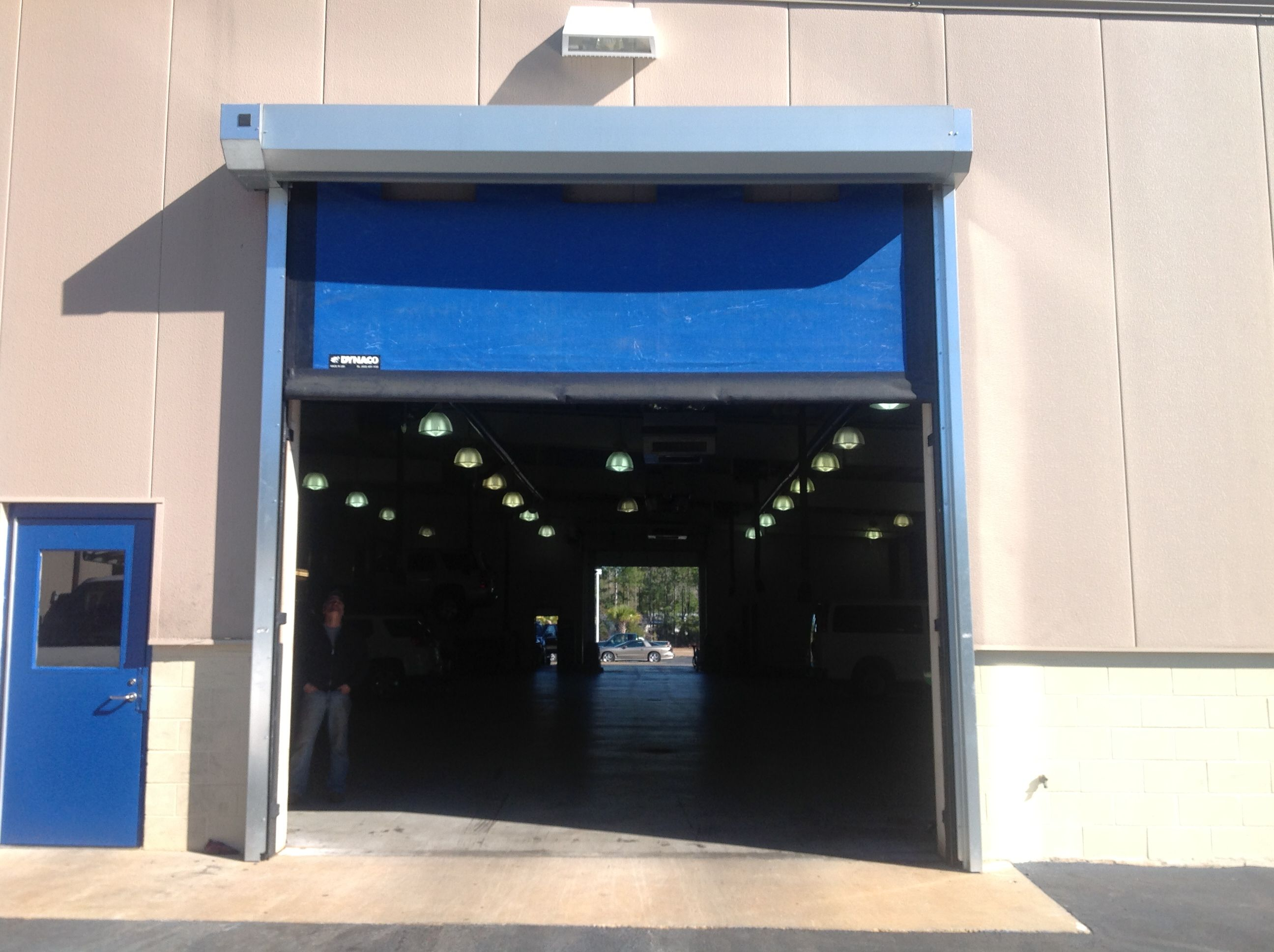 Dynaco Doors Exterior Mounted High Speed We sell and install Dynaco Doors .warehousecubed.com & Dynaco Doors Exterior Mounted High Speed We sell and install Dynaco ...