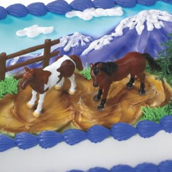 Horses Decoset Cake Decorating Kit Horse cake Horse and Cake