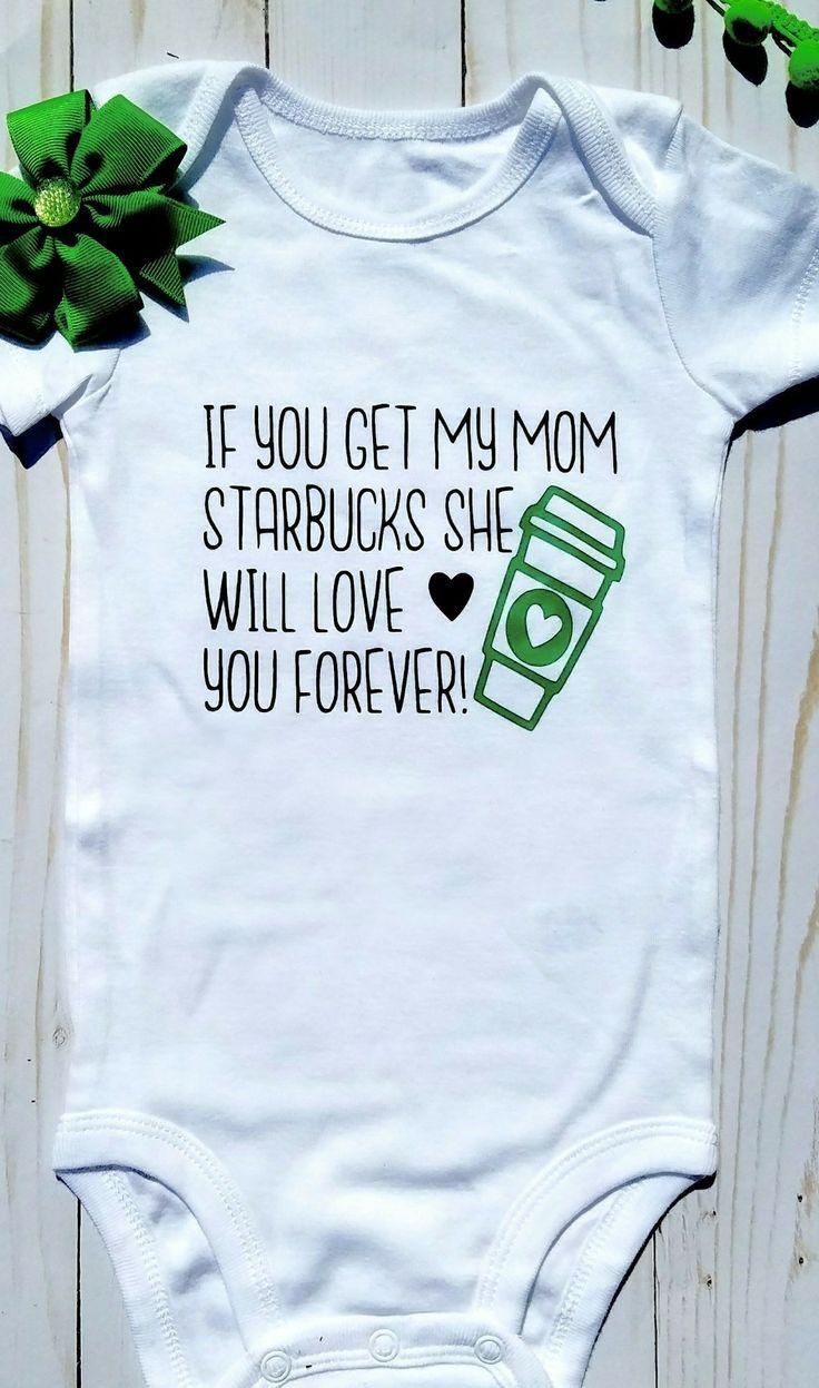 9c5ec1562 Funny baby onesie, starbucks, starbucks mom, momma needs coffee, coffee mom,  baby girls onesie, mommy needs caffeine, starbucks baby onesie, funny  infant ...