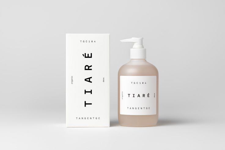 Packaging by London-based Carl Nas Associates for Tangent GC's latest range of organic soaps