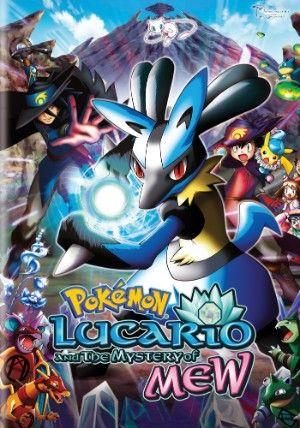 Pokemon Movie 8 Dvd D Lucario The Mystery Of Mew Pokemon