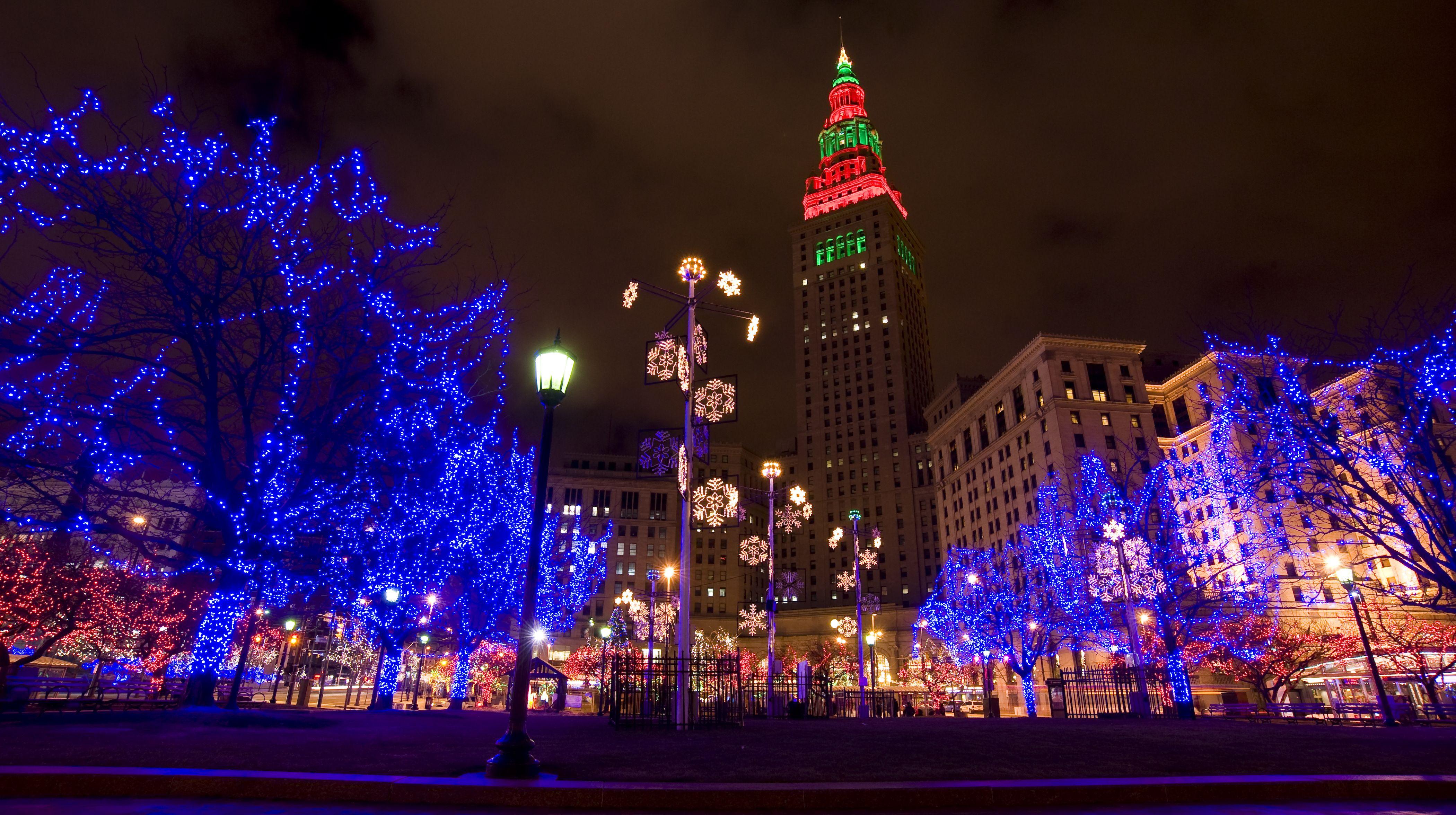 Christmas Lights 2020 Ohio Public Square Cleveland Ohio Christmas Lights 2020 | Ybvyur