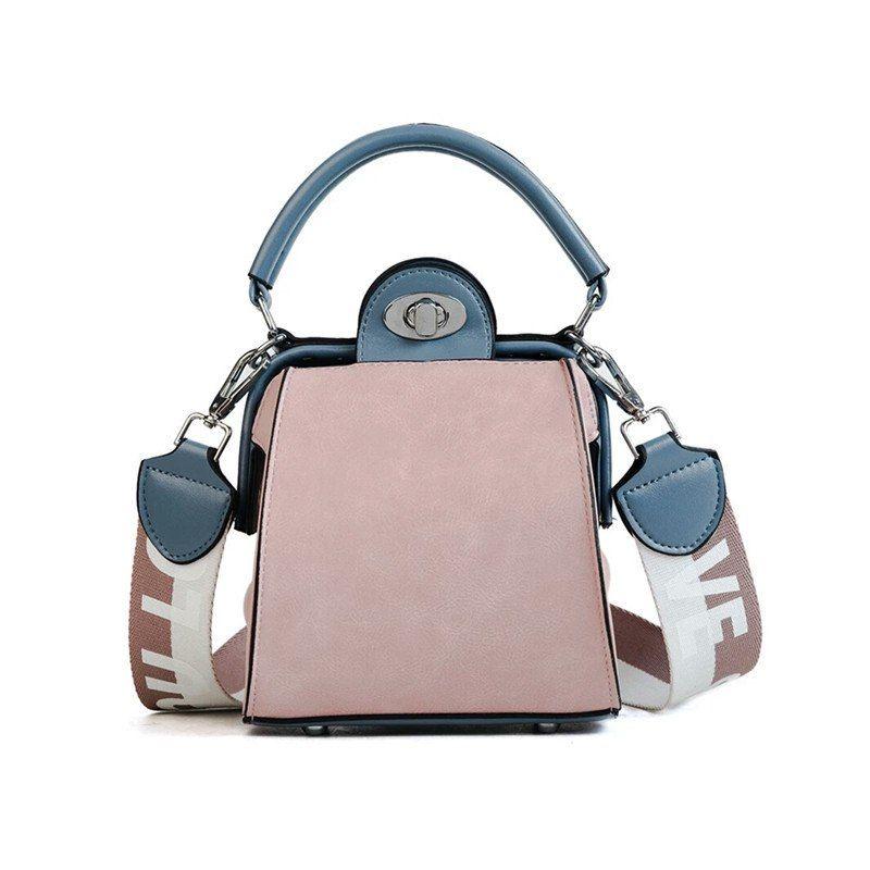 89ed1641d819 Купить товар LHLYSGS брендовые модные мини сумка 2018 Женская летняя обувь  новая волна широкополосный сумки Сумка