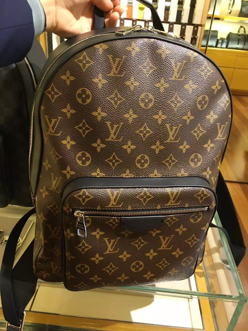 5322664836d1 Men s Macassar Josh Backpack M41530 Luis Vuitton Backpack