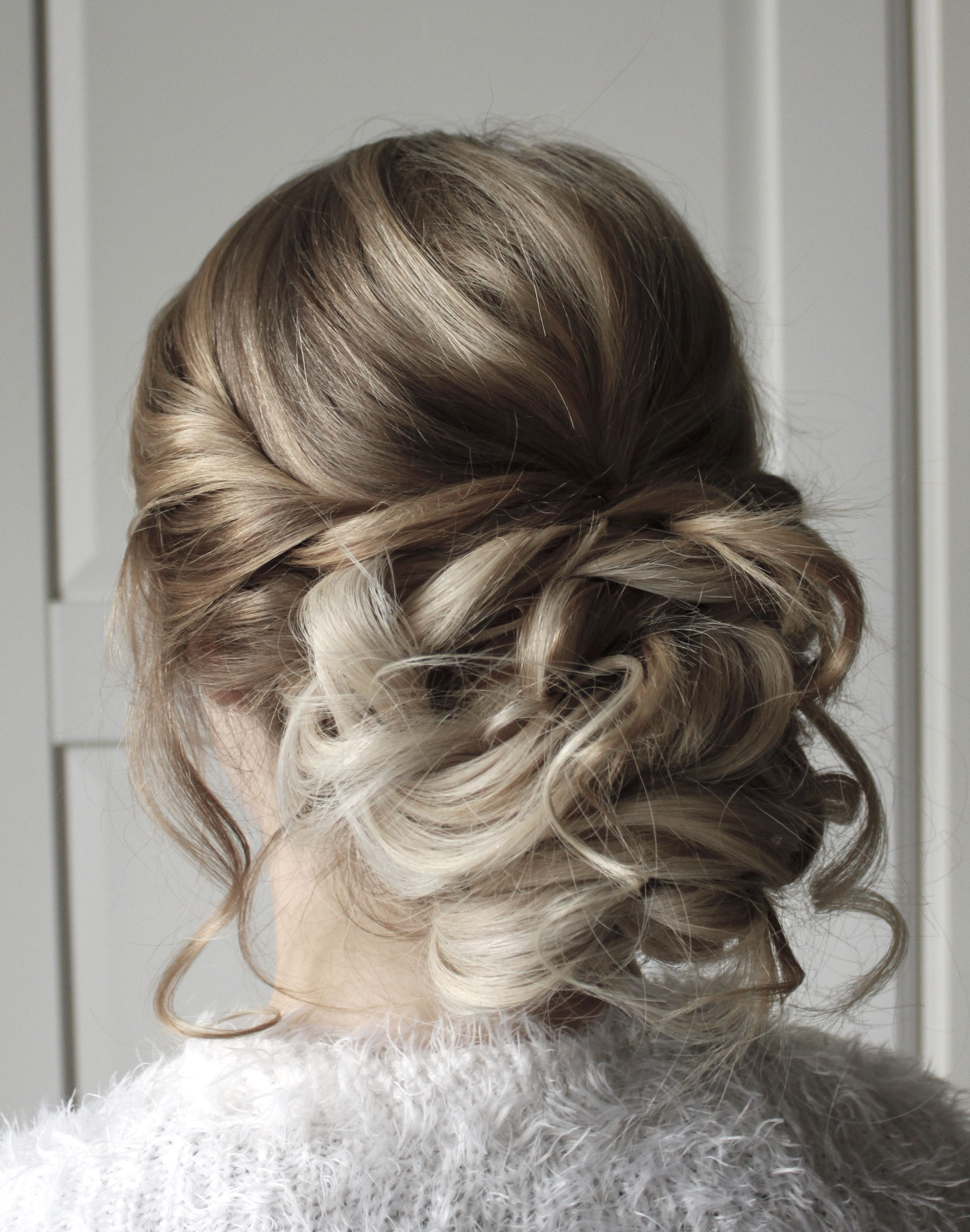 messy updo hairstyle , bridal hair , brautfrisuren , braut