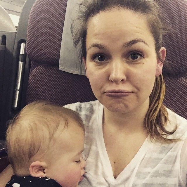 Gi and Buzz on plane