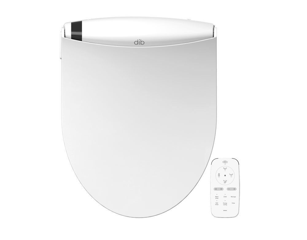 Biobidet Special Edition Dib Elongated White Electric Bidet Toilet