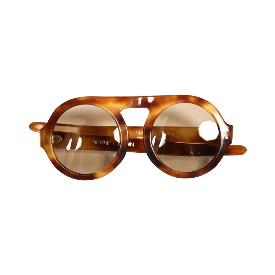 d9dd6593d0 1960 s PIERRE CARDIN tortoise plastic sunglasses