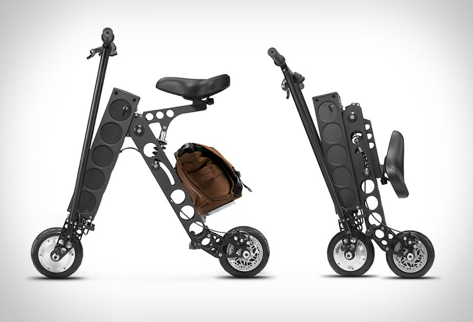 Urb E Is An Electric Folding Scooter A Great Add On To The Shelf Of Electrically Moved Vehicles