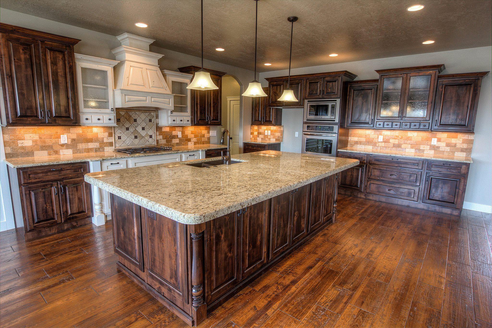 Custom mirage located in davis county utah custom kitchen with