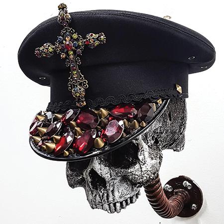 1 FSLA Byzantine Cross Custom Officer Hat